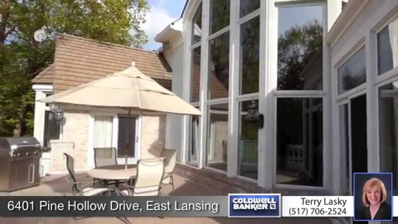 home for sale 6401 pine hollow dr east lansing mi