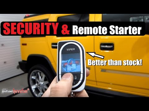 Viper Security and Remote Start 5902 & SMART START (2007 Hummer H2)