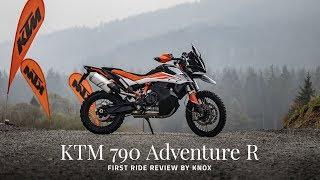 KTM 790 adventure R review | Knox at Sweet Lamb - Wales