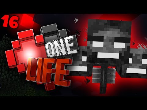 FIGHTING the WITHER in a BLOOD MOON - Minecraft One Life SMP EP16