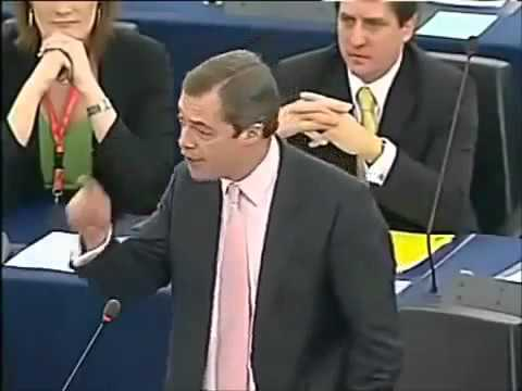 Nigel Farage exposes corrupt bureaucrats in the EU Parliament.