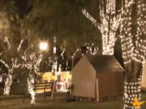 TV Jaguari apresenta a decoração de Natal em Holambra