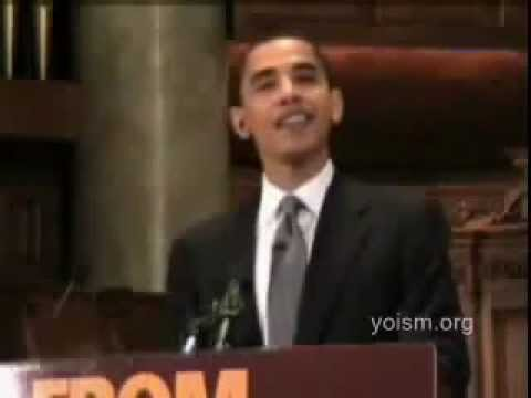 YouTube   Obama Mocking God and the Bible Speech on Religion