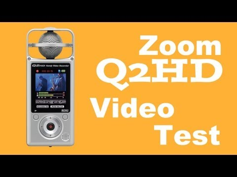 Zoom Q2HD Video Test
