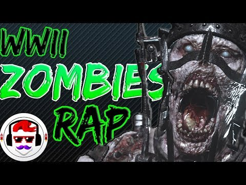 Call of Duty WW2 Zombies: The Darkest Shore RAP SONG | Closer | Rockit Gaming