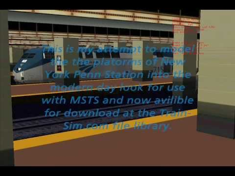 MSTS New York Pennsylvania Station platforms review