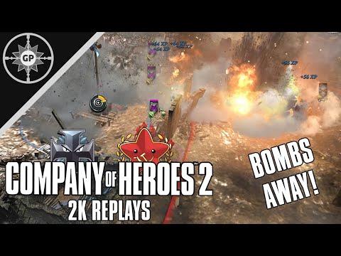 Too Much Walking Stuka? - Company of Heroes 2 Replays #56