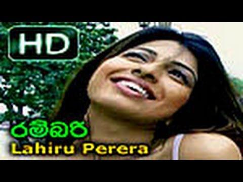 Rambari (lahiru Perera) Hd Video - Www.lankachannel.lk video