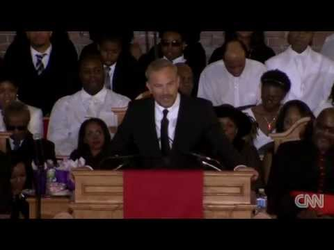 Whitney Houston Funeral: Kevin Costner speaking about