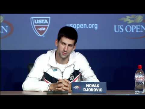 2011 US Open Press Conferences: Novak Djokovic (First Round)