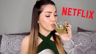 ASMR - Netflix & Wine | What I've Been Watching