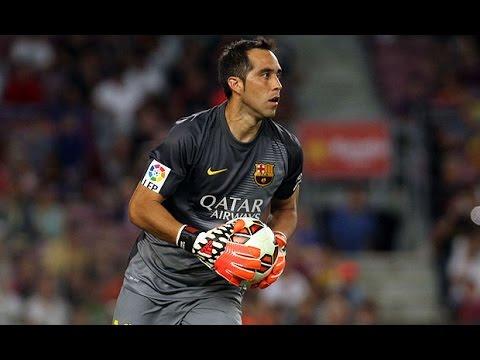 Claudio Bravo-Best Saves /F.C Barcelona/