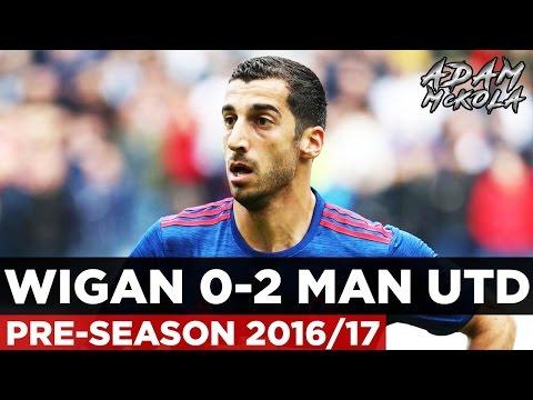 Wigan 0-2 Manchester United   Pre-Season 2016-17   GOALS: Keane, Pereira