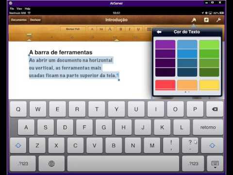 Use o Office no iPad - Parte 1 - Pages