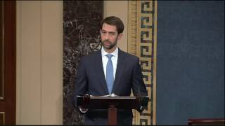 January 23, 2017: Sen. Cotton Speaks on the Senate Floor in Support of Mike Pompeo