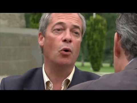 Nigel Farage: I'm being betrayed by Vote Leave