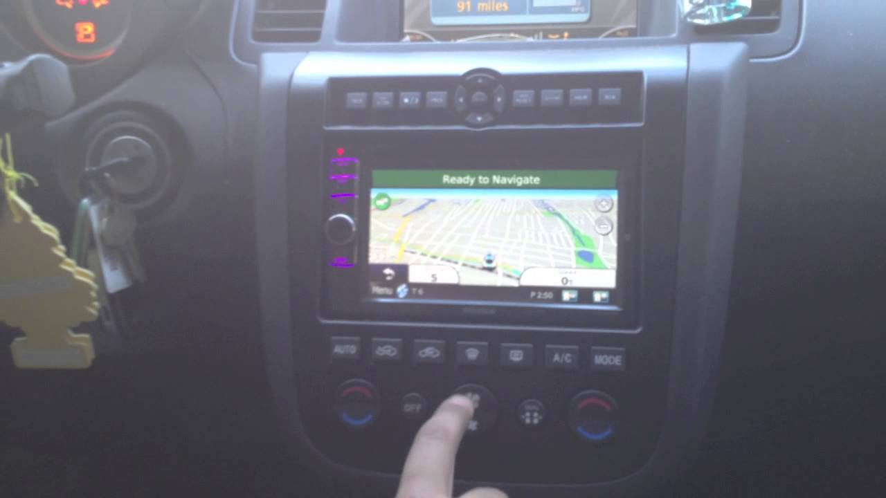 2007 Nissan Murano Custom Installed A Kenwood Dnx6190hd