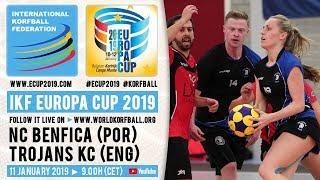 IKF ECup 2019 NC Benfica - Trojans KC