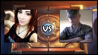 1v1 Sister vs Brother - Hearthstone Gets Double MAC