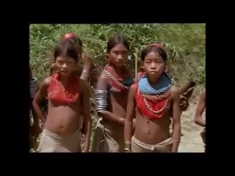 NAGALAND: Konyak-Nagas of the earlier ages.