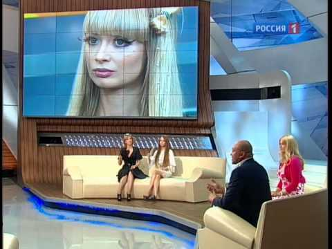 Valeria Lukyanova  Amatue talk show on beauty. Barbie doll