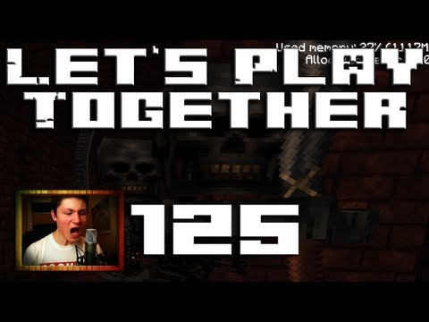 Suche nach Wither Skeletten - Let's Play Minecraft Together #125 - mit LPmitKev