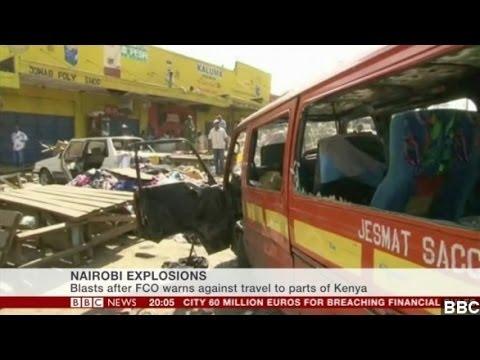 Twin Blasts In Kenya Injure Scores As Tourists Evacuate