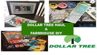 Weekly Dollar Tree Haul & DIY Farmhouse Decor Idea