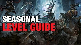 Diablo Seasonal 1-70 Leveling Tips & Tricks Solo & Group Play Guide Massacre Bonuses Patch 2.6.4