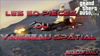 GTA V | Les 50 pièces vaisseaux spatial