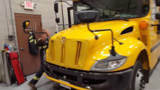 Bus Garage Tour and a Quick Look at Buses #205 and #502