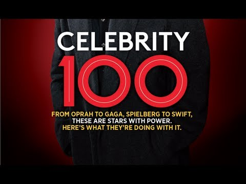 Inside Forbes: Celebrity 100 Issue