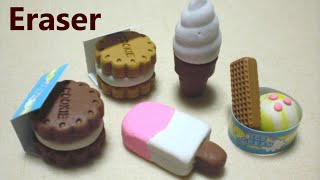 Kutsuwa - Eraser making kit #4 - Ice cream (Inedible / can't eat)