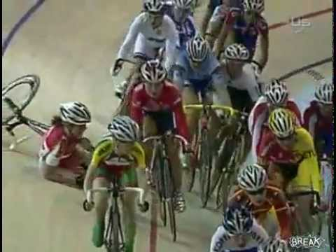 Olympic 2012 Women's Cycling Accident