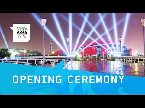 Opening Ceremony   Athletes Enter Stadium    Nanjing 2014 Youth Olympics