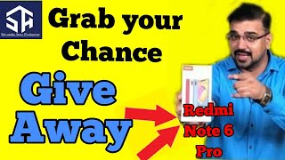 Redmi Note 6 Pro Giveaway | GIVEAWAY by SA Sir_Expert Kota Faculty