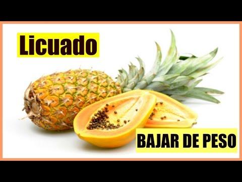 LICUADO de Papaya y Piña para BAJAR DE PESO RAPIDO ♦ consaboraKaFé