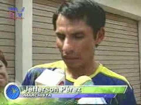 Pérez no participaría en Olimpiadas