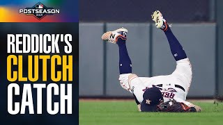 RIDICULOUS catch: Josh Reddick's clutch grab preserves lead for Astros in ALCS Game 6 vs Yankees