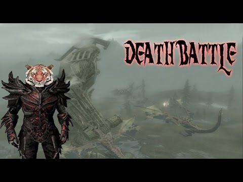 Skyrim Death Battle #2 Is This Pacific Rim!?!?!?!