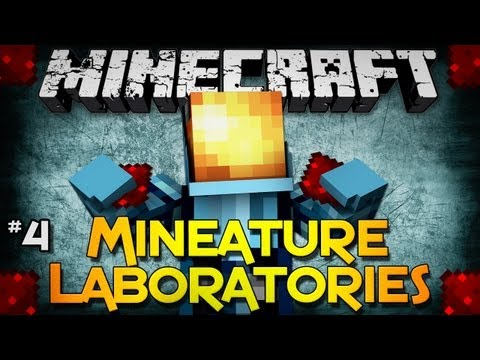 Minecraft: Mineature Laboratories - Part 4 - Low On Redstone...