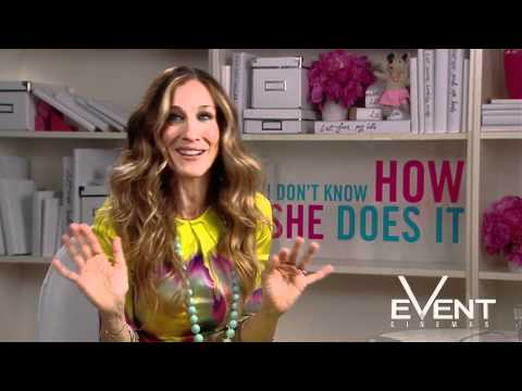 I Don't Know How She Does It Sarah Jessica Parker Interview