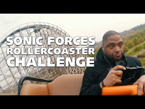 Sonic Forces Rollercoaster Challenge!