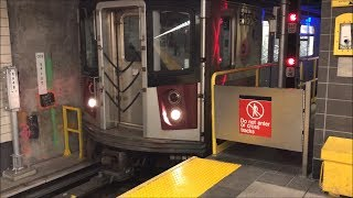 NYC Subway HD 60fps: R188 7 Train Pulls Out of Pocket & Enters Service @ 34th Street - Hudson Yards