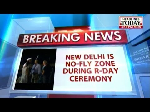 No drones, Beast for Obama on R-day