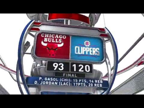 Chicago Bulls vs Los Angeles Clippers - January 31, 2016