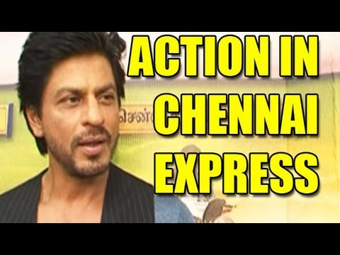 Shahrukh talks about the action sequences in 'Chennai Express'