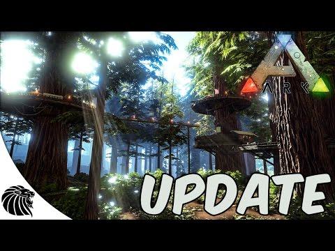 ARK SURVIVAL EVOLVED UPDATE 243.0  - NOVO BIOMA - REDWOOD FOREST