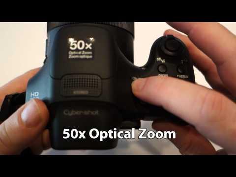 Sony Cyber-shot HX300 & WX300 Zoom Quick test