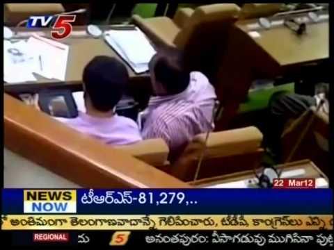 Telugu News- Bjp Mla's Seeing Blue Films In Gujarat Assembly(tv5) video